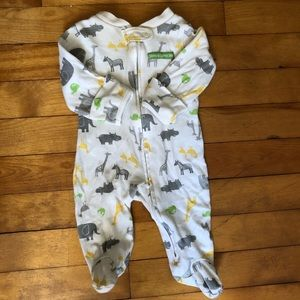 Carter's One Pieces - FREE Carter's Animal Footie Sleeper Suit Neutral